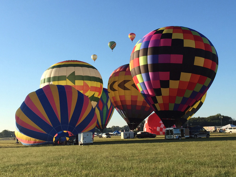 Hot air ballooning memories