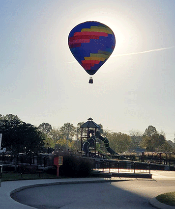 hot air ballon Nashville